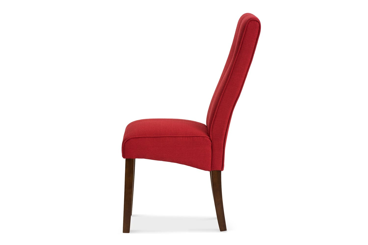 Mabel Dining Chair | Dark Leg | Red