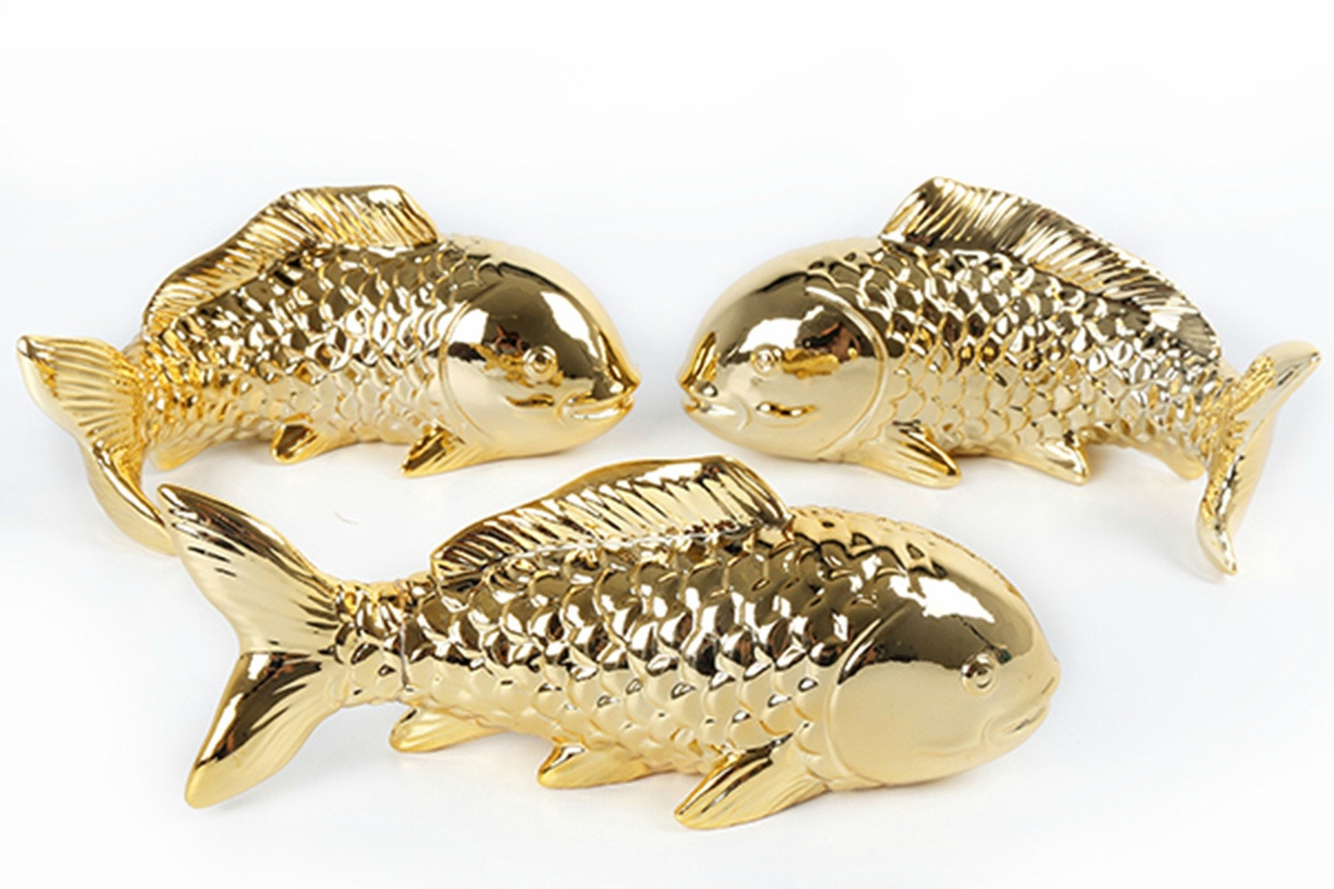 Ceramic Fish Wall Ornaments
