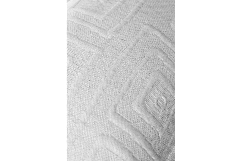 The Linen Room Lisbon Bed Spread   Grey