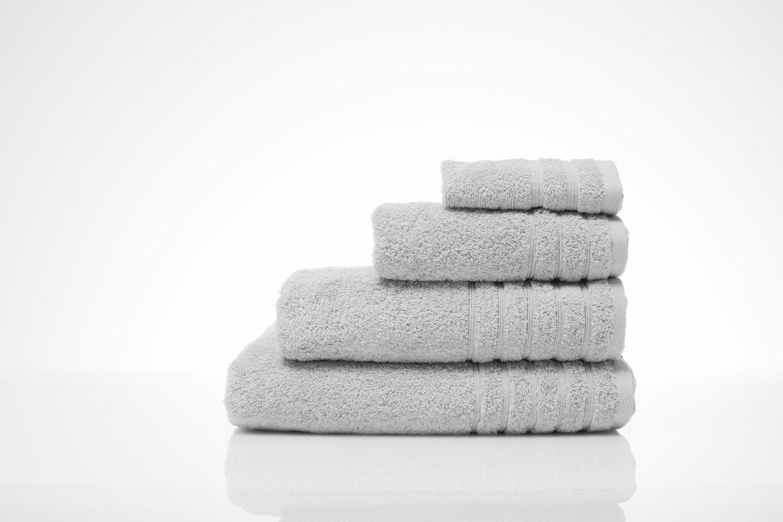 The Linen Room Hand Towel Grey