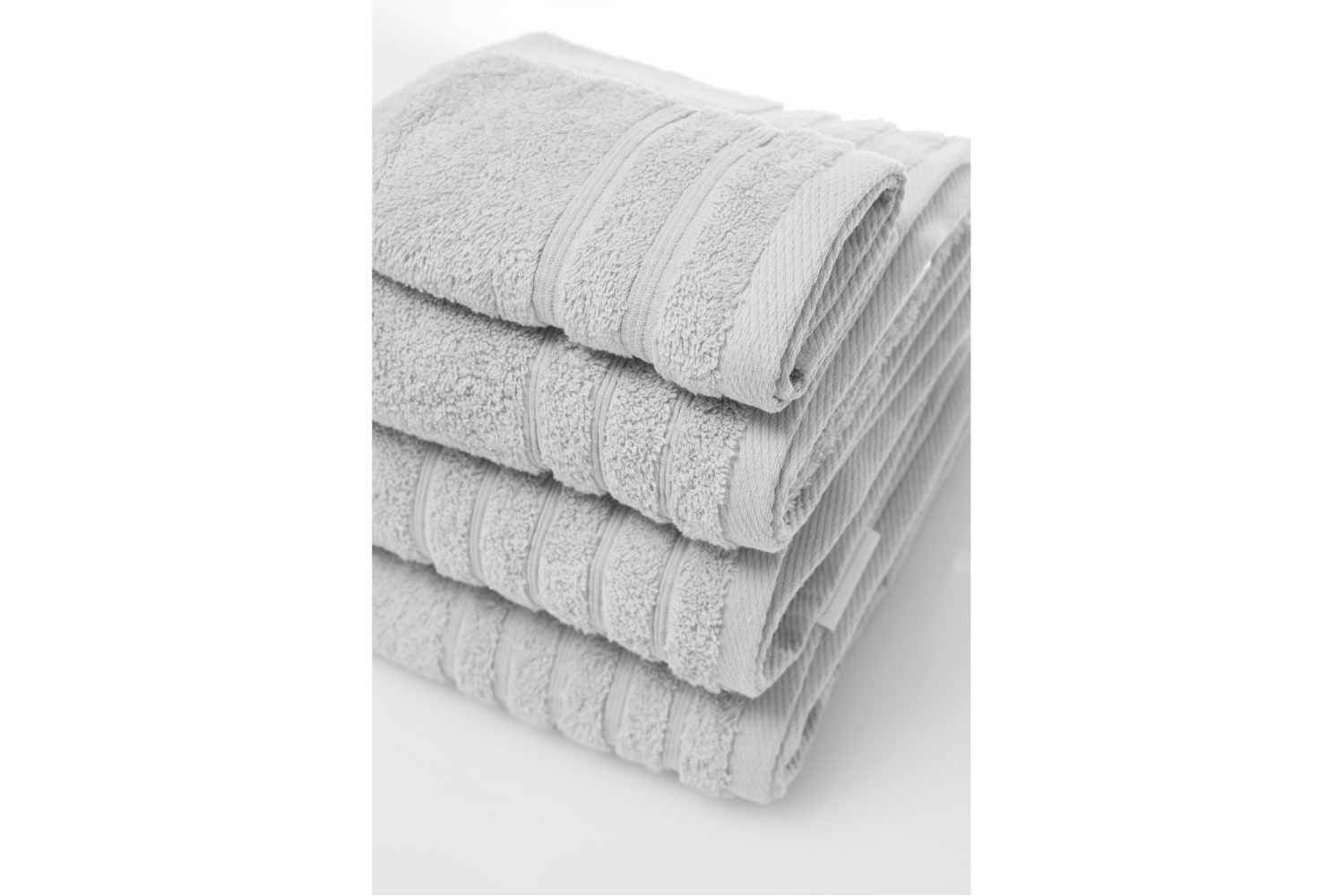 The Linen Room Hand Towel Grey