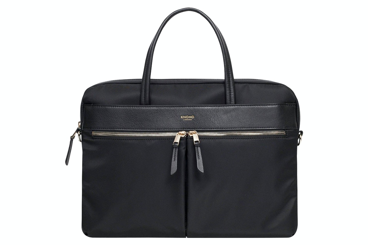 "Knomo Hanover 14"" Slim Briefcase 