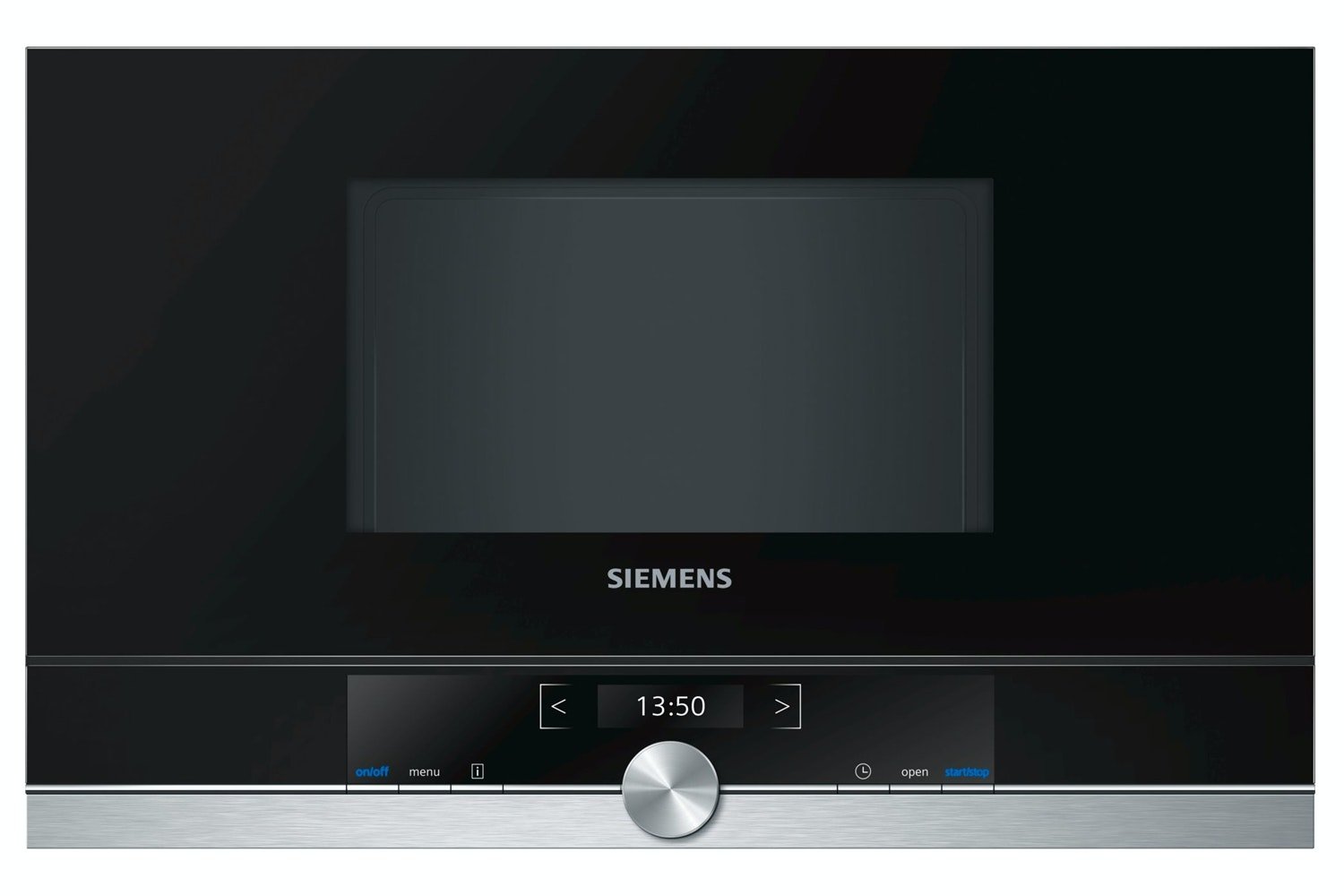 Siemens 21L 900W IQ700 Built In Microwave | BF634LGS1B | Black