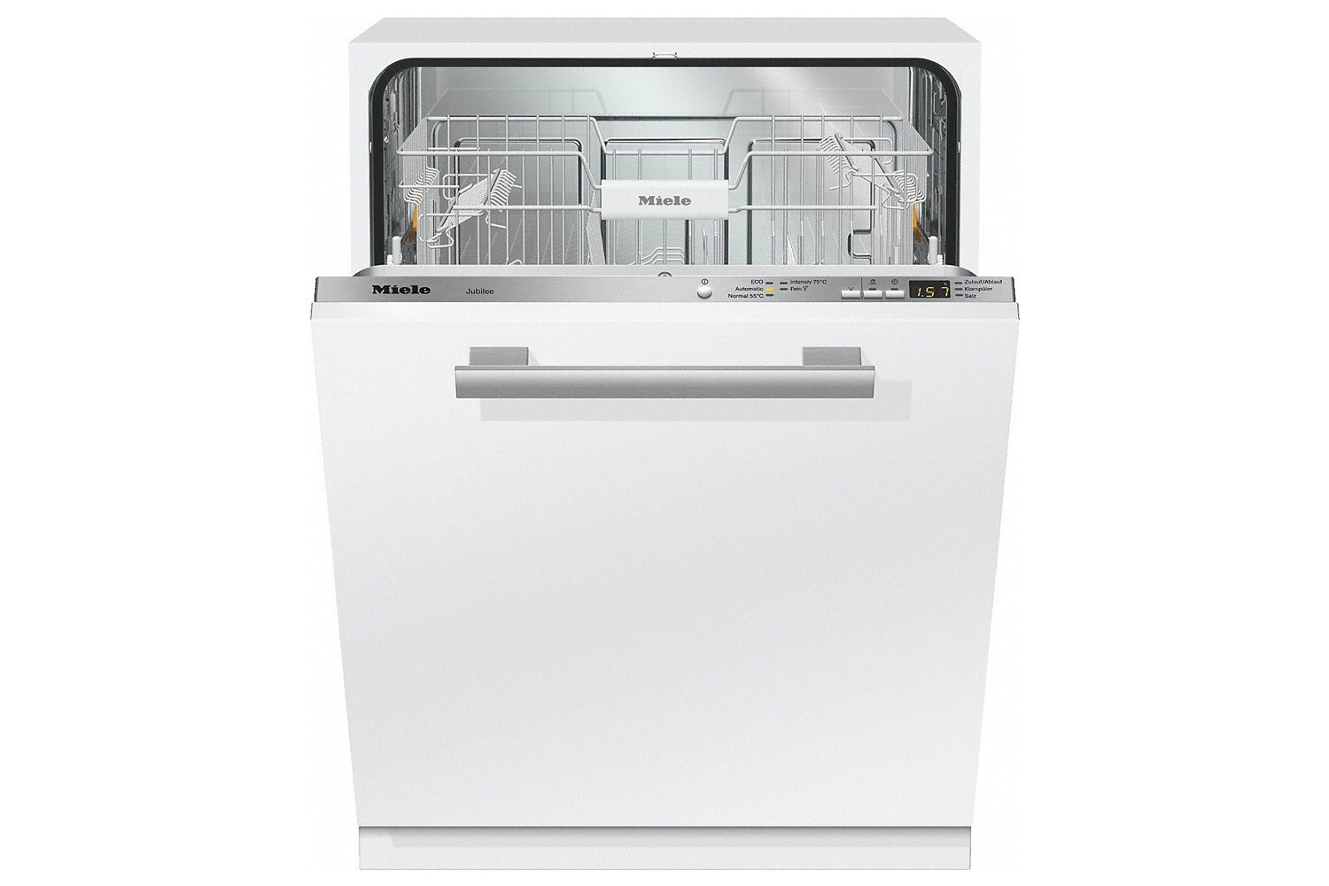 Miele G 4990 Vi Jubilee  Fully-integrated, full-size dishwasher   Delay start and countdown indicator for great entry-level value