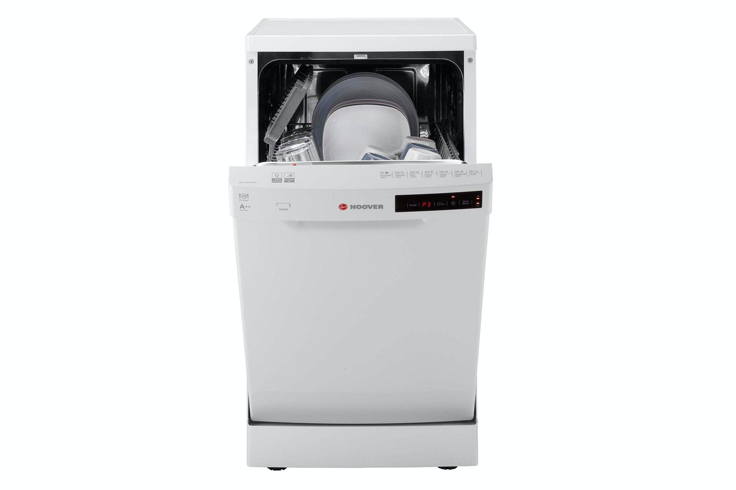 Hoover 10 Place Slimline Dishwasher | HDP2D1049W-80