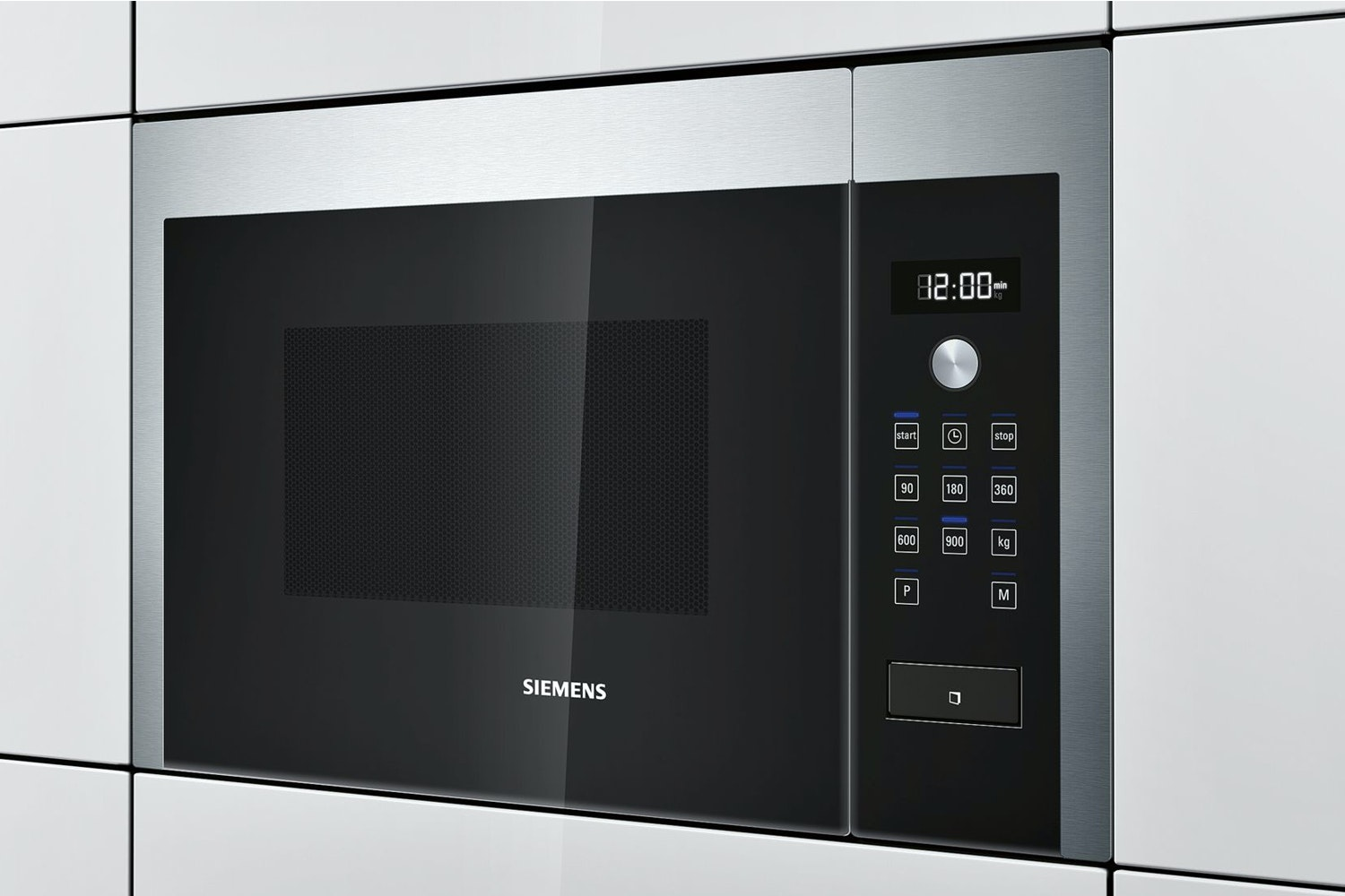 Siemens 25L 900W Built In Microwave | Stainless Steel