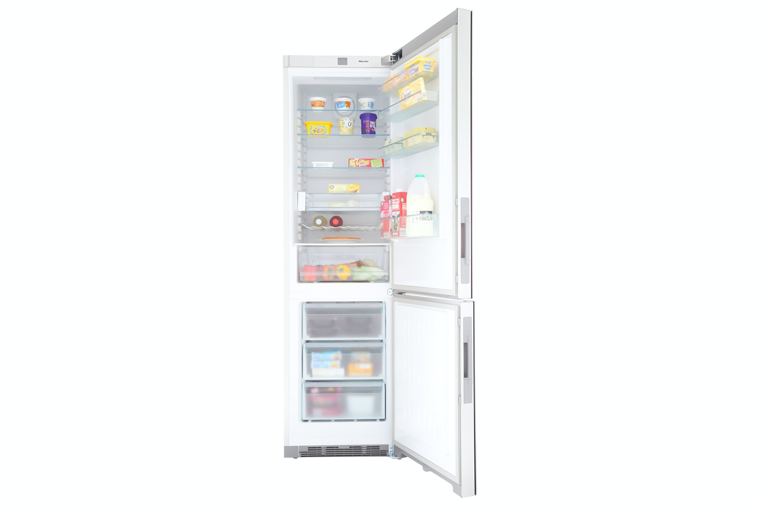 KFN 29233 D bb  XL freestanding fridge freezer   in exclusive Blackboard edition with DailyFresh and Frost free