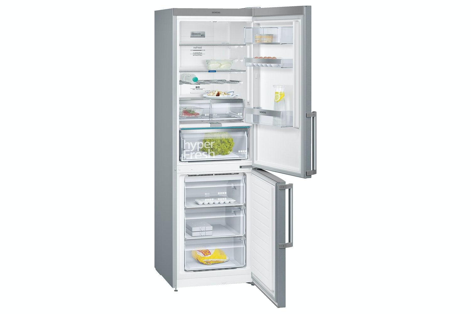 Siemens iQ500 Freestanding Fridge Freezer | KG36NAI45