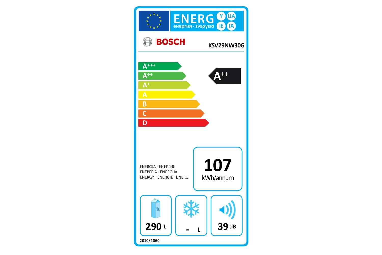 Bosch Larder Fridge| KSV29NW30G