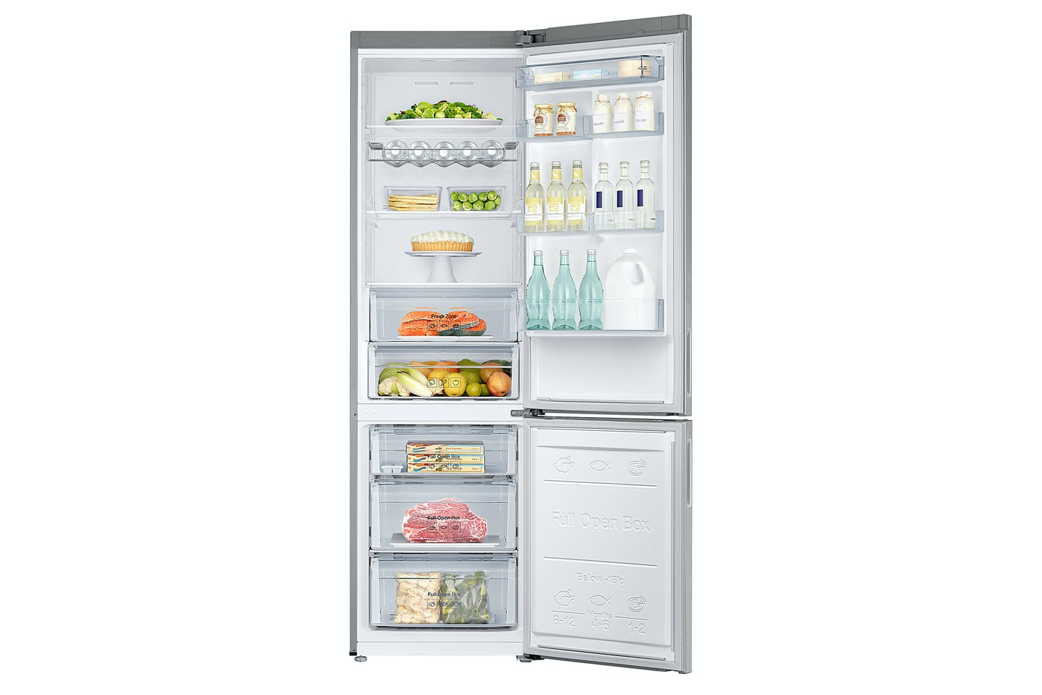 Samsung Freestanding Fridge Freezer | RB37J5230SL
