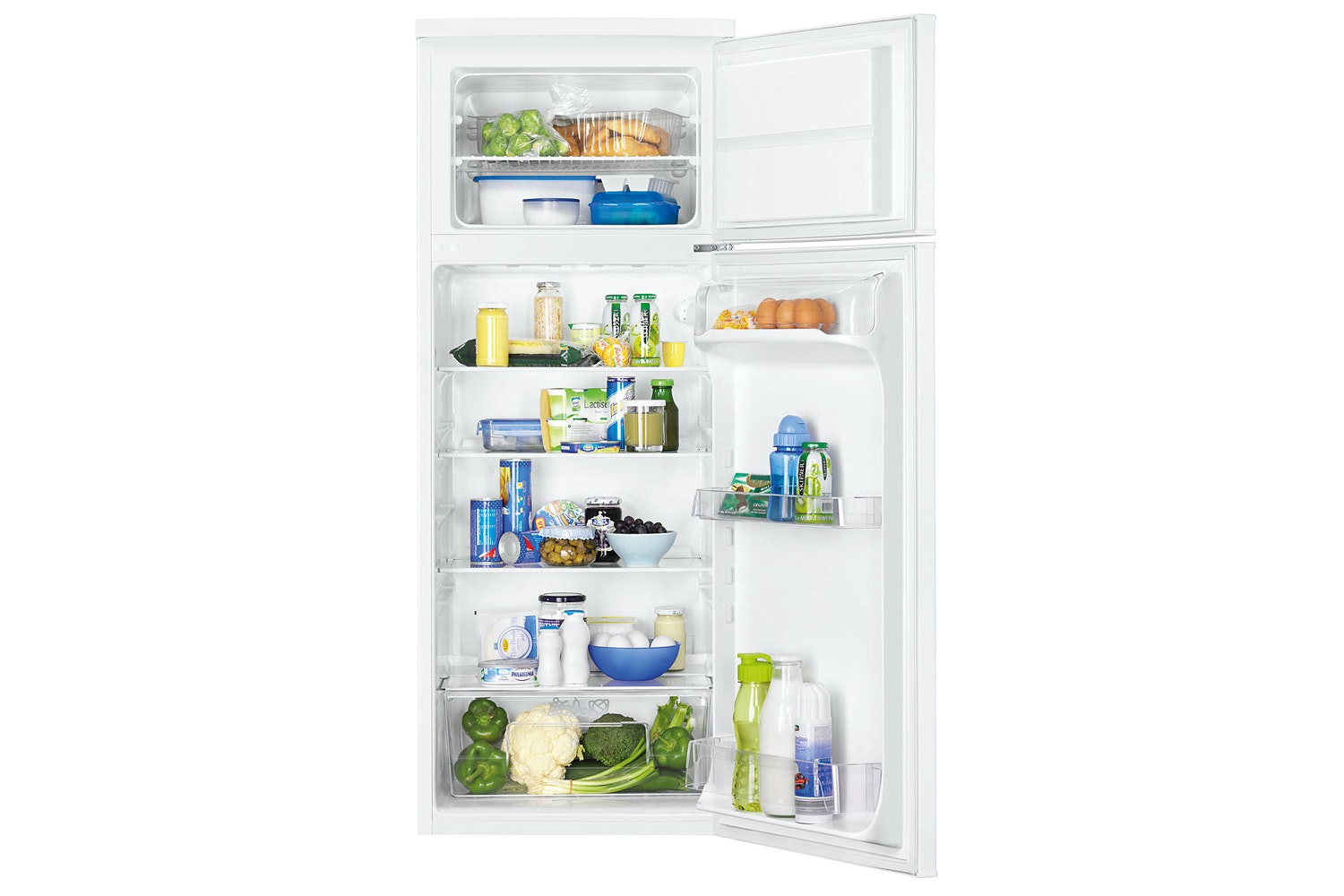 Zanussi Freestanding Fridge Freezer | ZRT23103WA