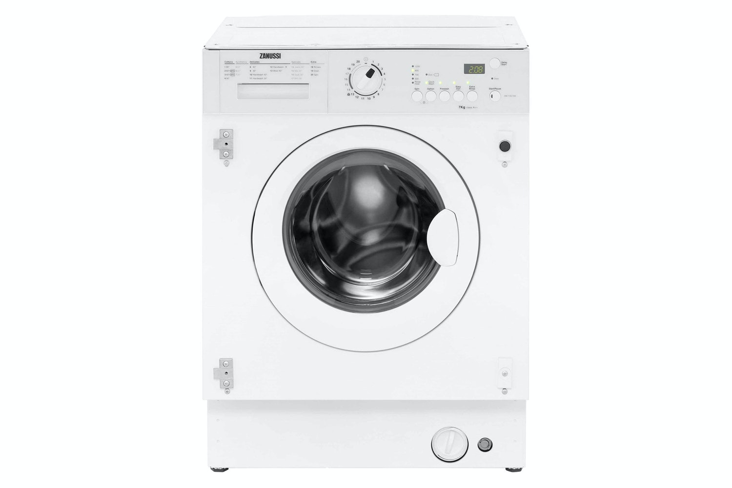 Zanussi 7kg Integrated Washing Machine | ZWi71201WA