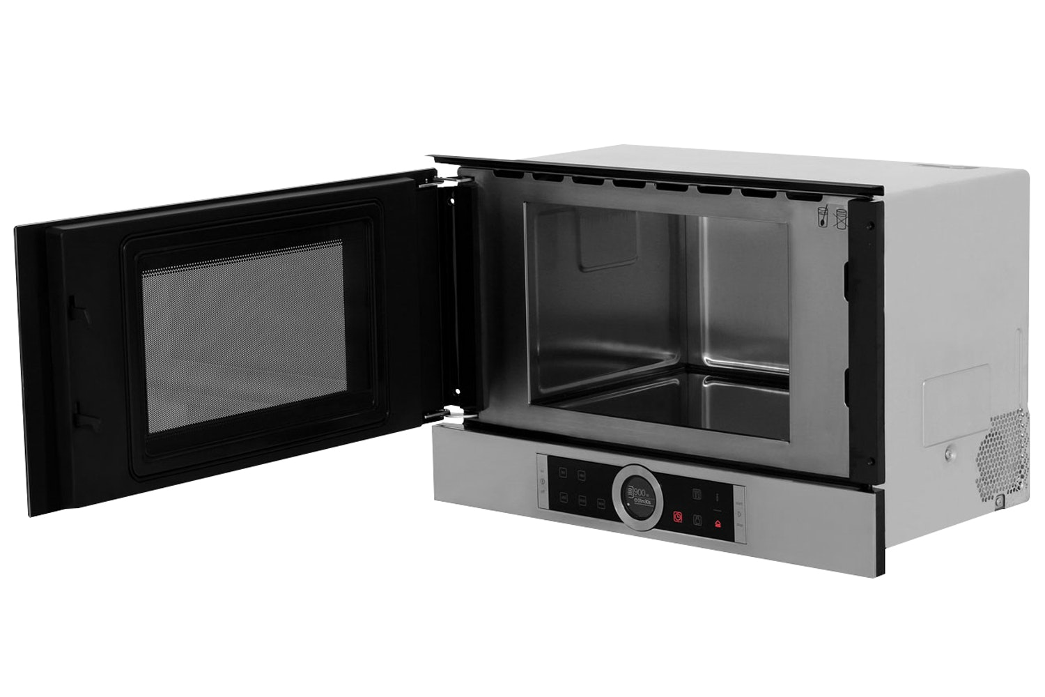 Bosch Series 8 21L 900W Built In Microwave | Black