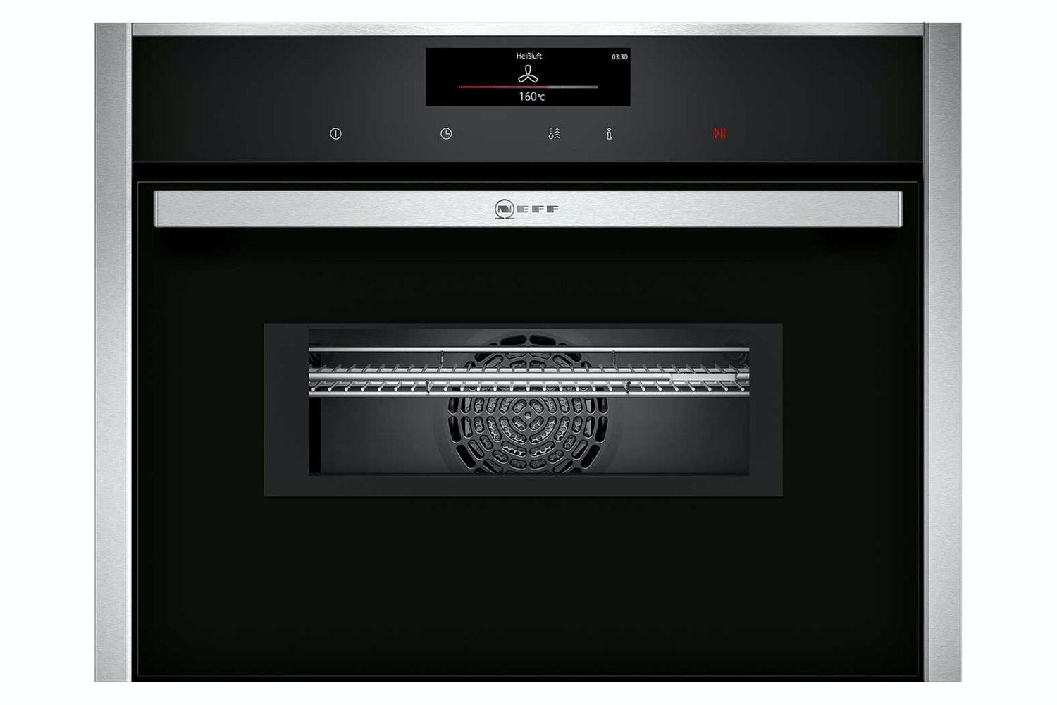 Neff 45L 1000W Built In Microwave | C28MT27N0B | Black