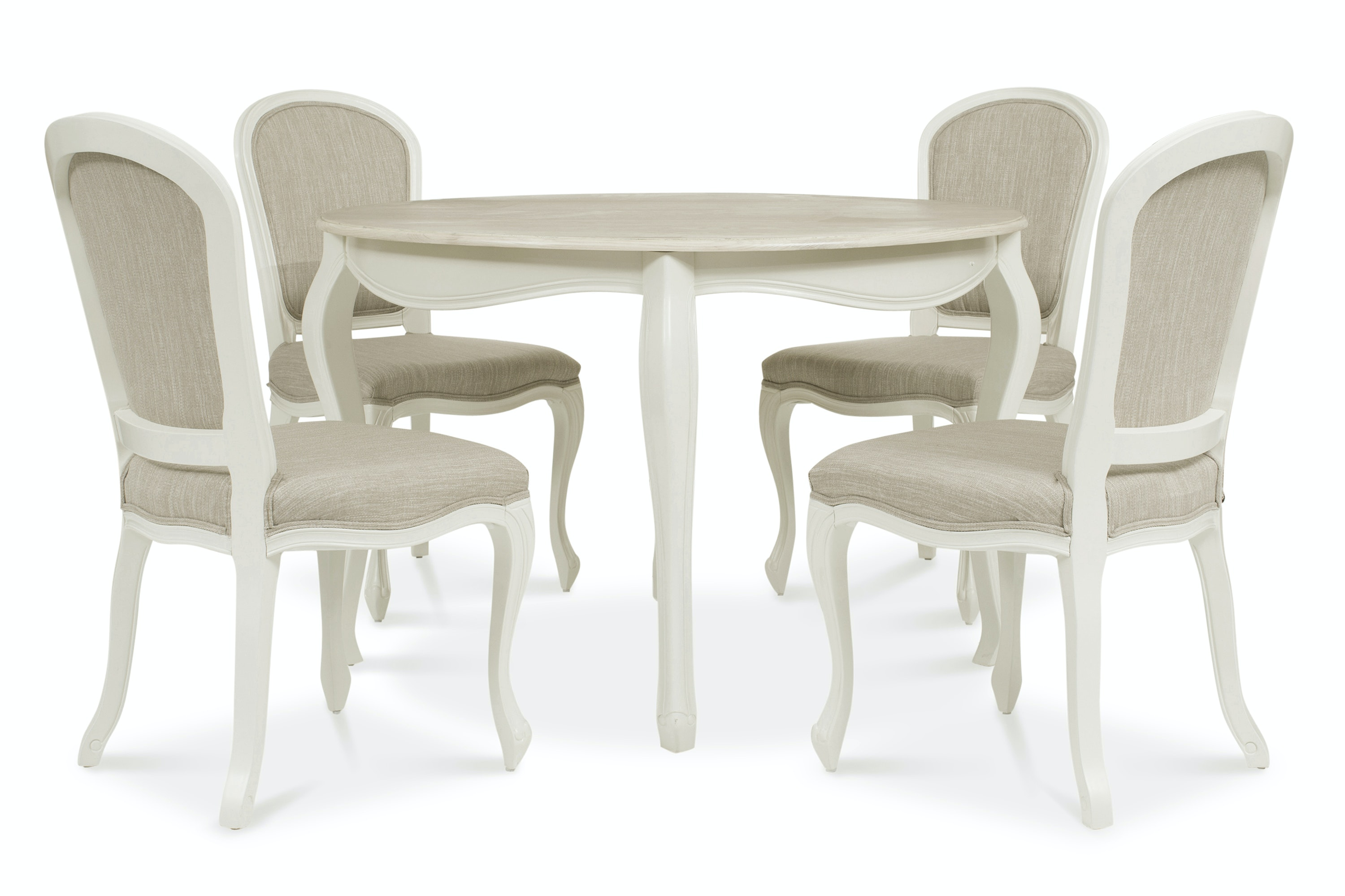 Bouvard Set With Round Table | 5 Piece