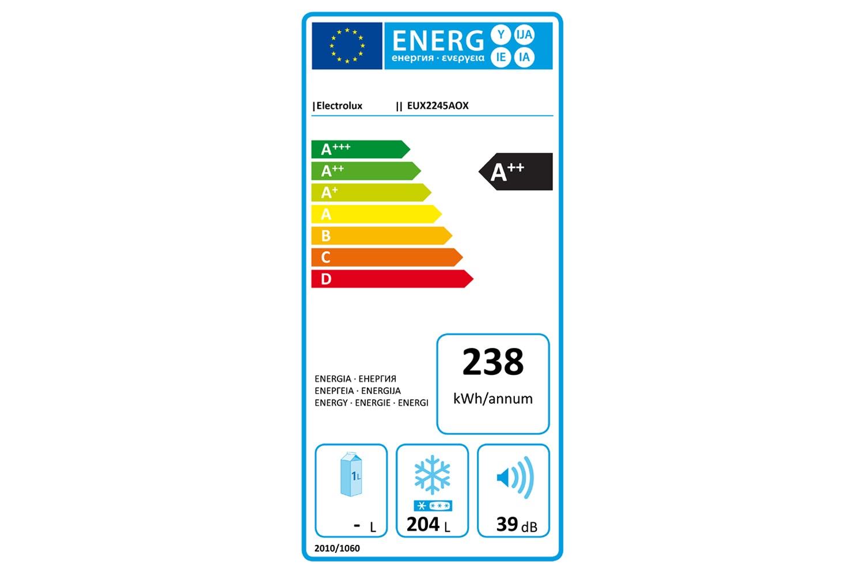 Electrolux Integrated Freezer | EUX2245AOX