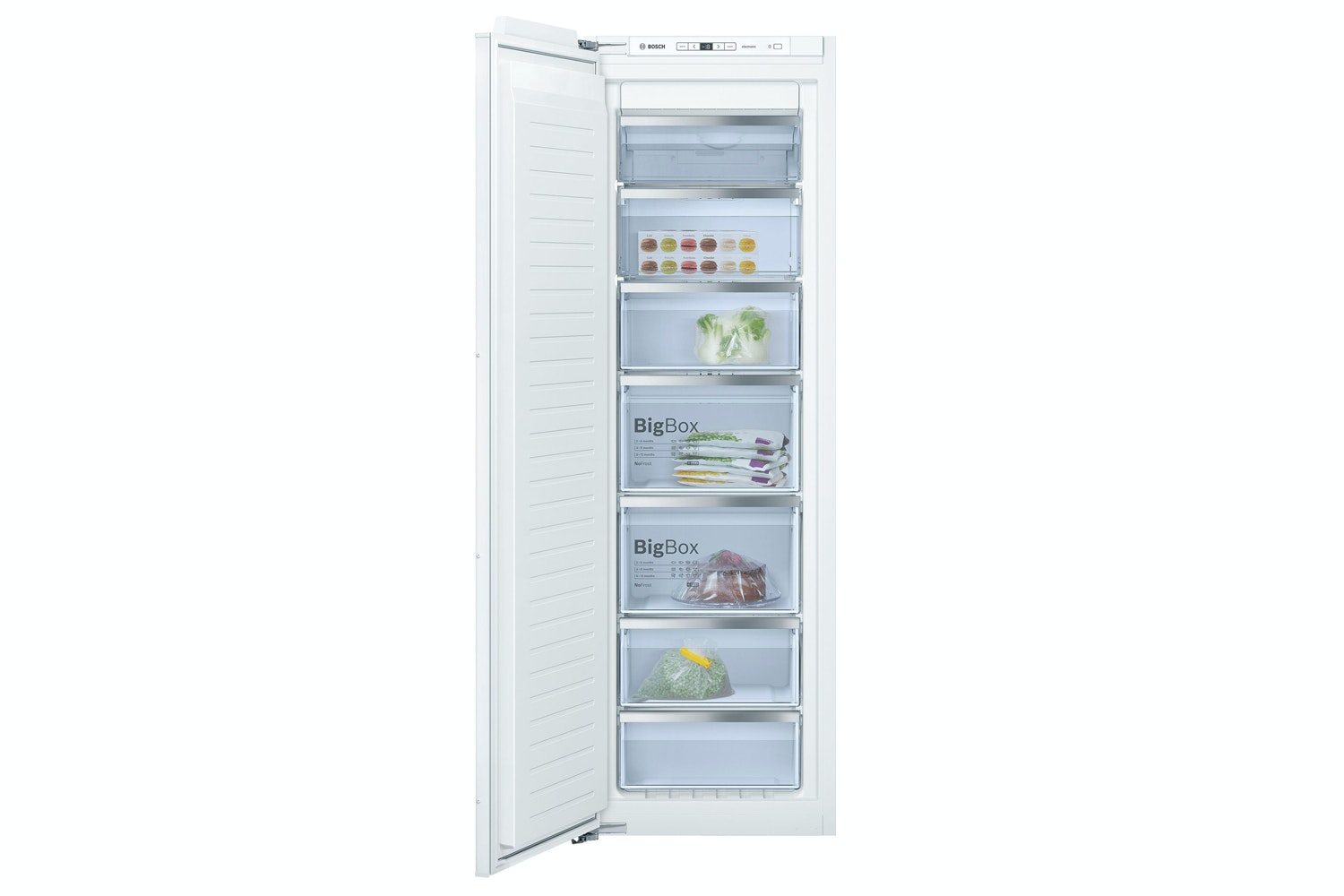 Bosch 150L Series 6 Built-in Upright Freezer | GIN81AE30G