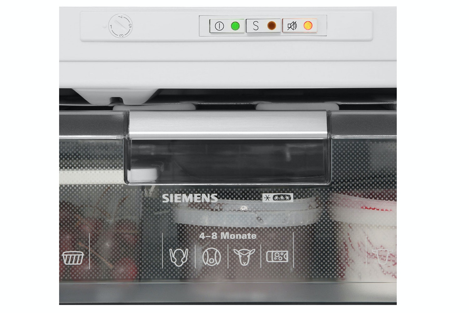 Siemens Integrated Undercounter Freezer White | GU15DA50GB