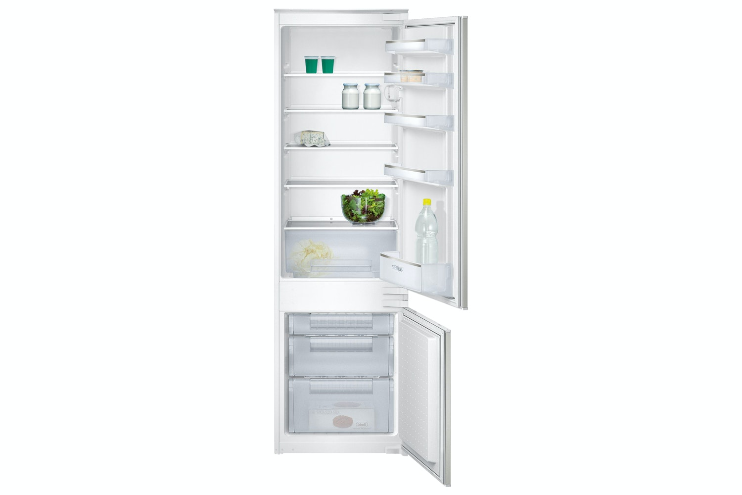 Siemens iQ100 Built-in Fridge Freezer | KI38VX22GB