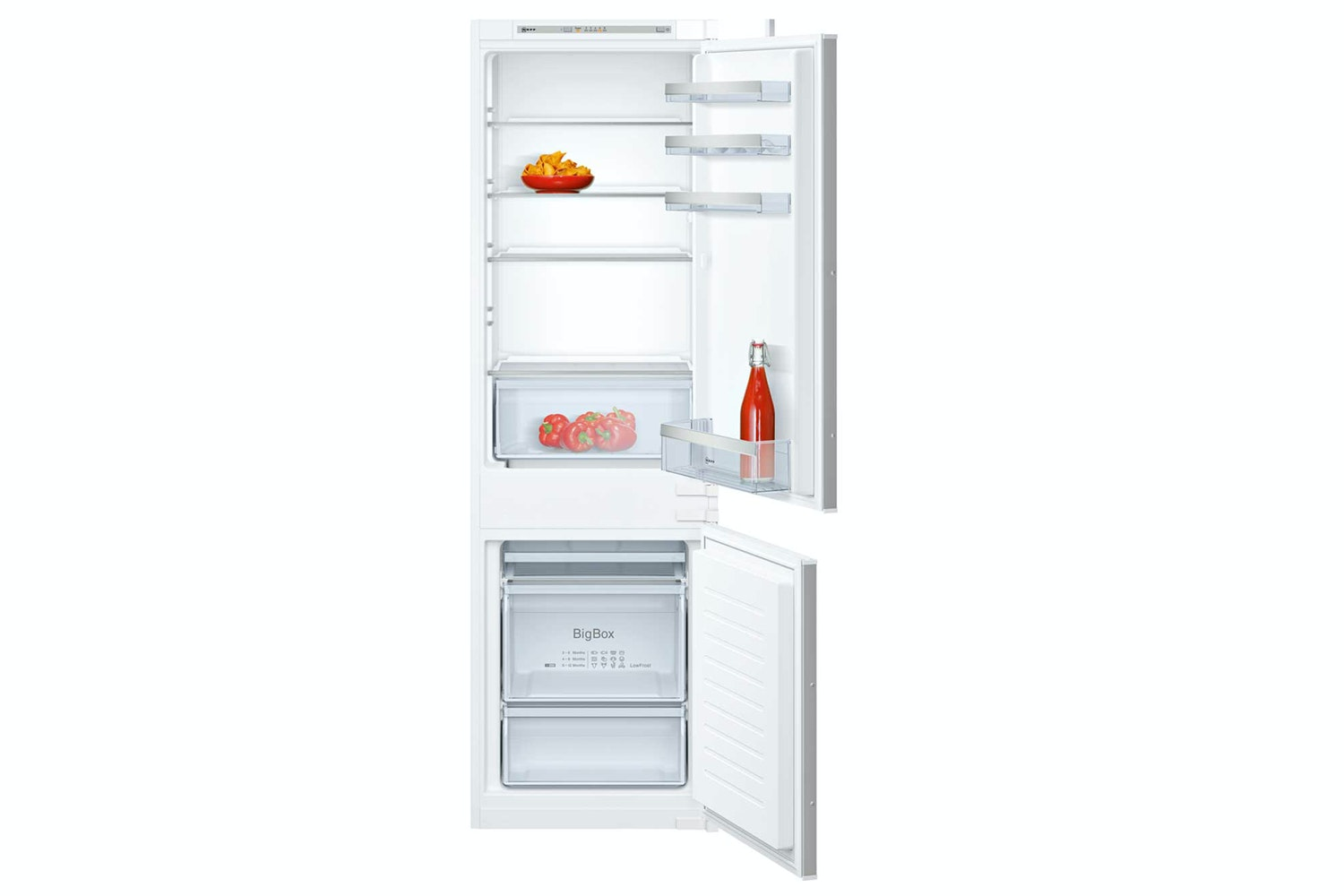 Neff 70/30 Integrated Fridge Freezer | KI5862S30G