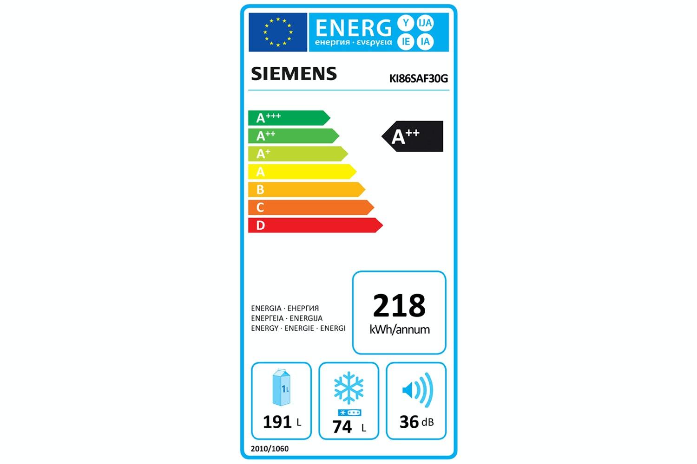Siemens Integrated Fridge Freezer   KI86SAF30G