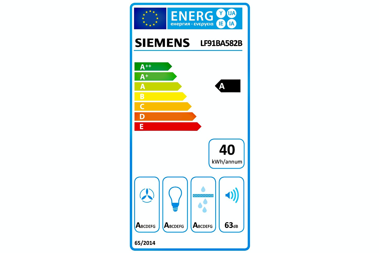 Siemens iQ70090cm Island Chimney Hood| LF91BA582B