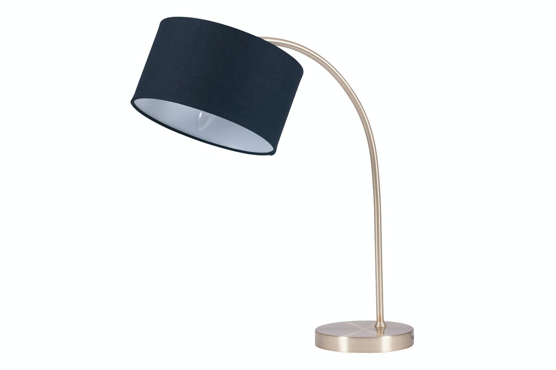 Monique Brass Arc Table Lamp U0026 Shade