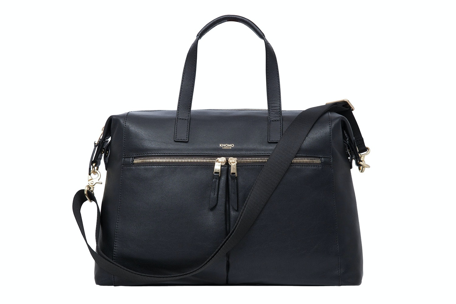 "Knomo Audley 14"" Leather Bag 