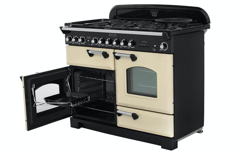 Rangemaster Classic Deluxe 110cm Dual Fuel Range Cooker | CDL110DFFCR/C