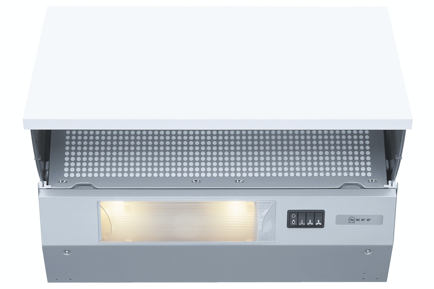 Neff 60cm Integrated Cooker Hood | D2654X1GB