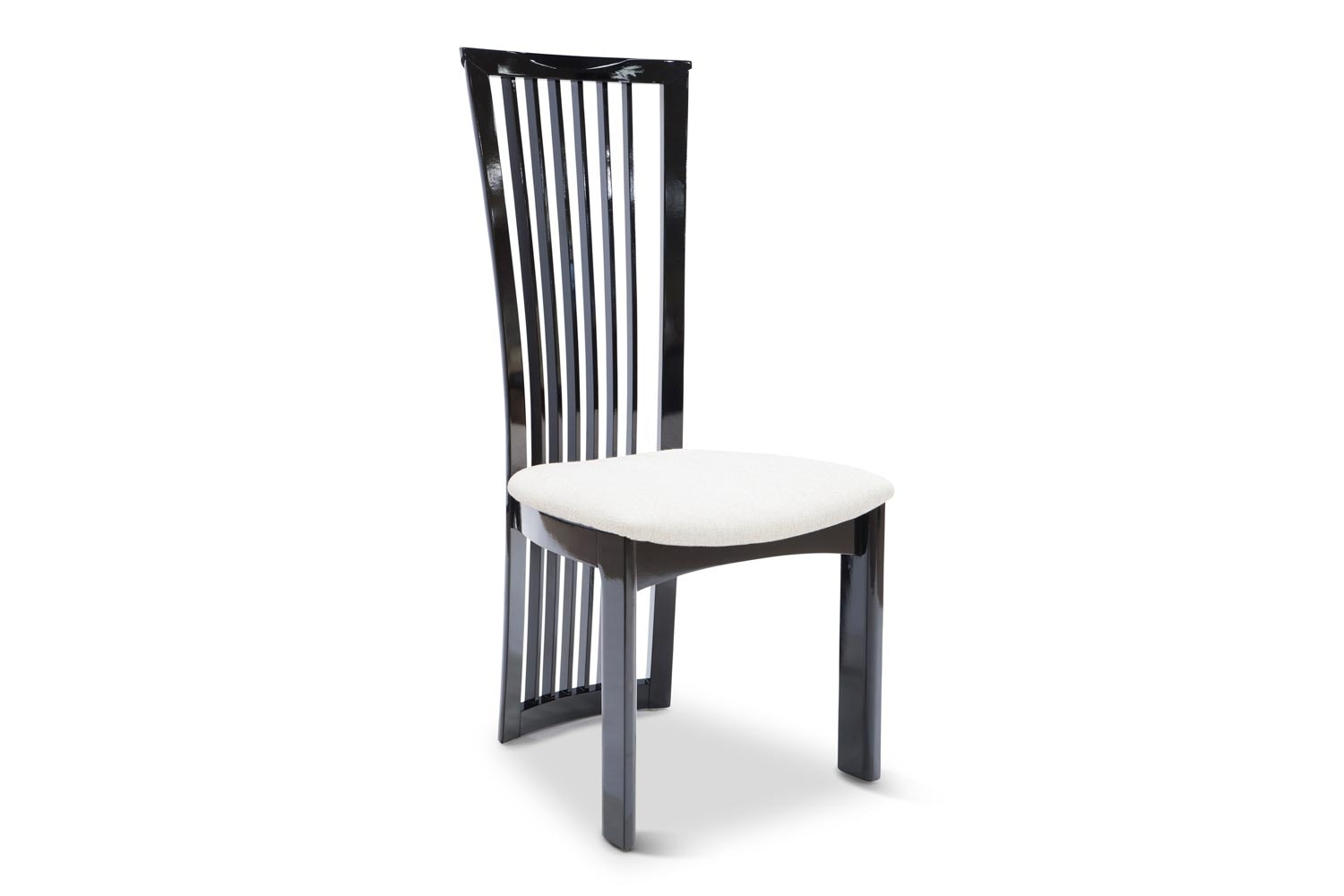 Strasbourg 5-Piece Dining Set | Black & White