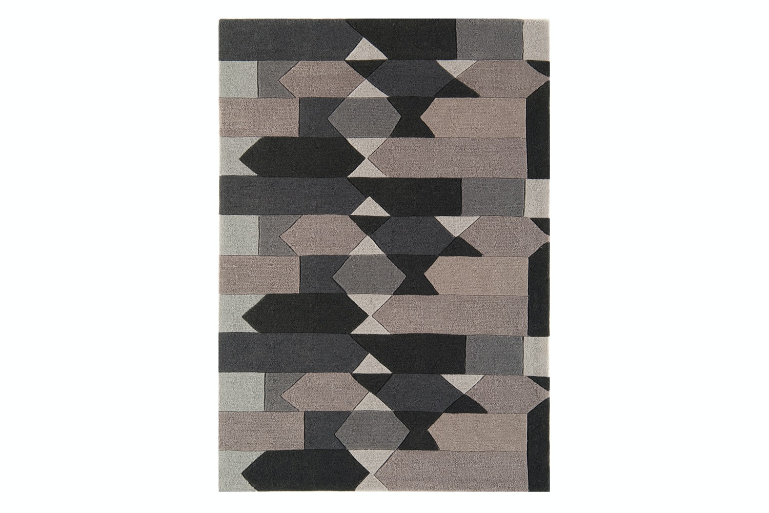 Harlequin Rug Grey And Taupe | HA14
