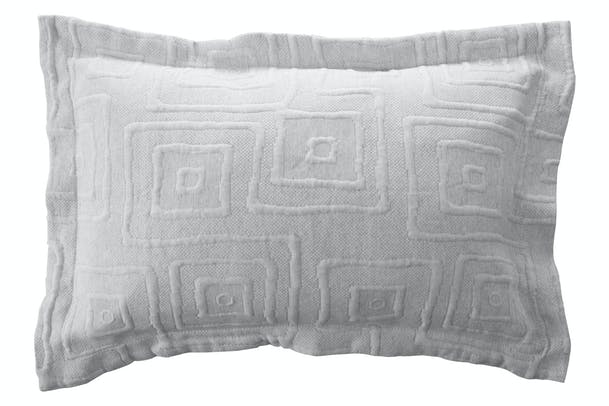 The Linen Room Lisbon Pillowsham | Grey