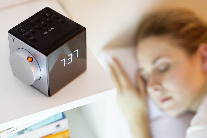 Sony ICF-C1PJ Clock Radio with Time Projector | Grey