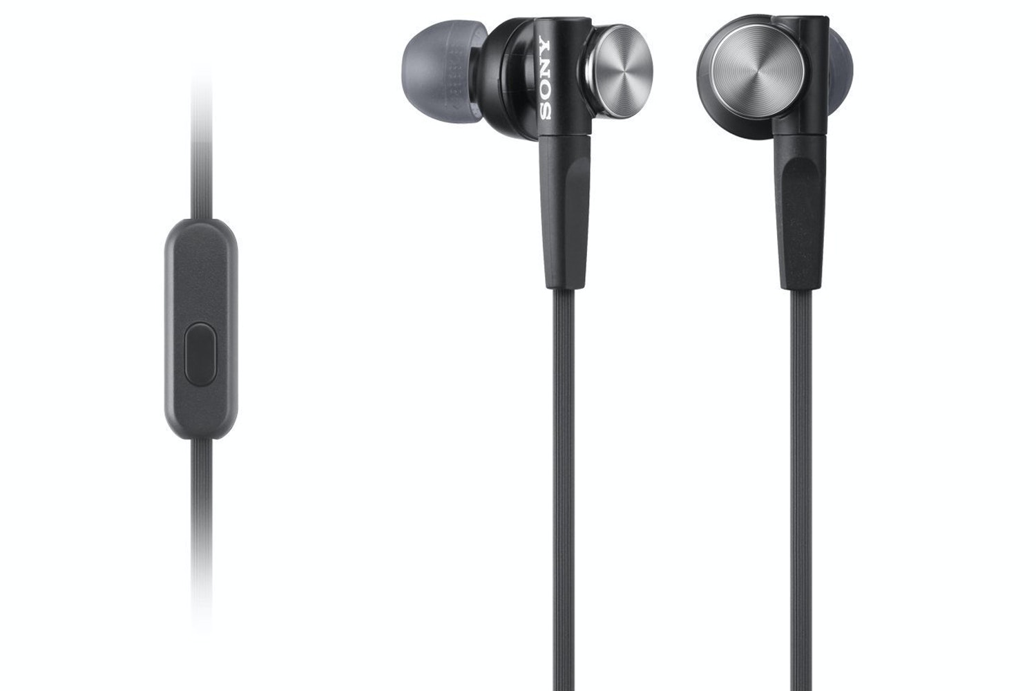 Sony In-Ear Extra Bass Headphones | Black | MDR-XB50AP