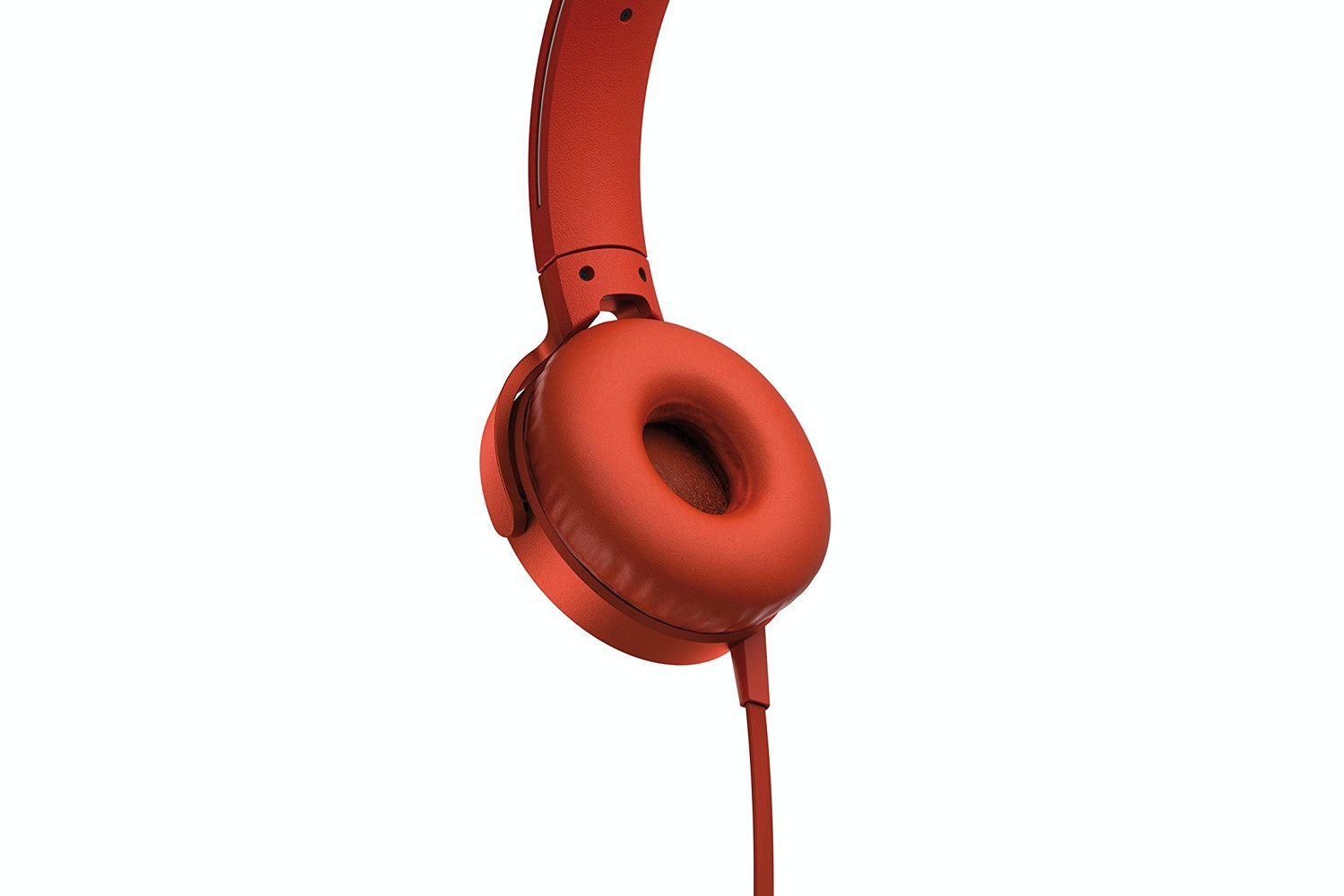 Sony MDR-XB550AP Extra Bass Over Ear Headphones | Red