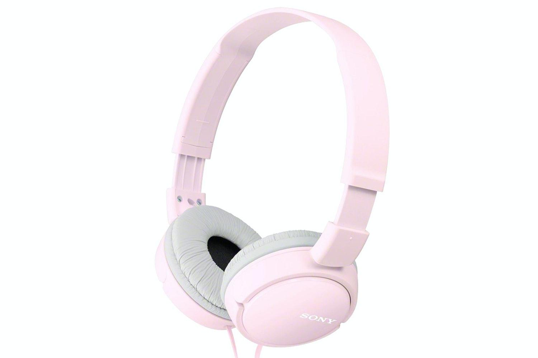 Sony Pink Headphones | MDR-ZX110AP