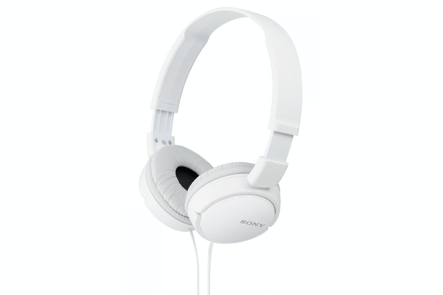 Sony MDR-ZX110 Over Ear Headphones | White