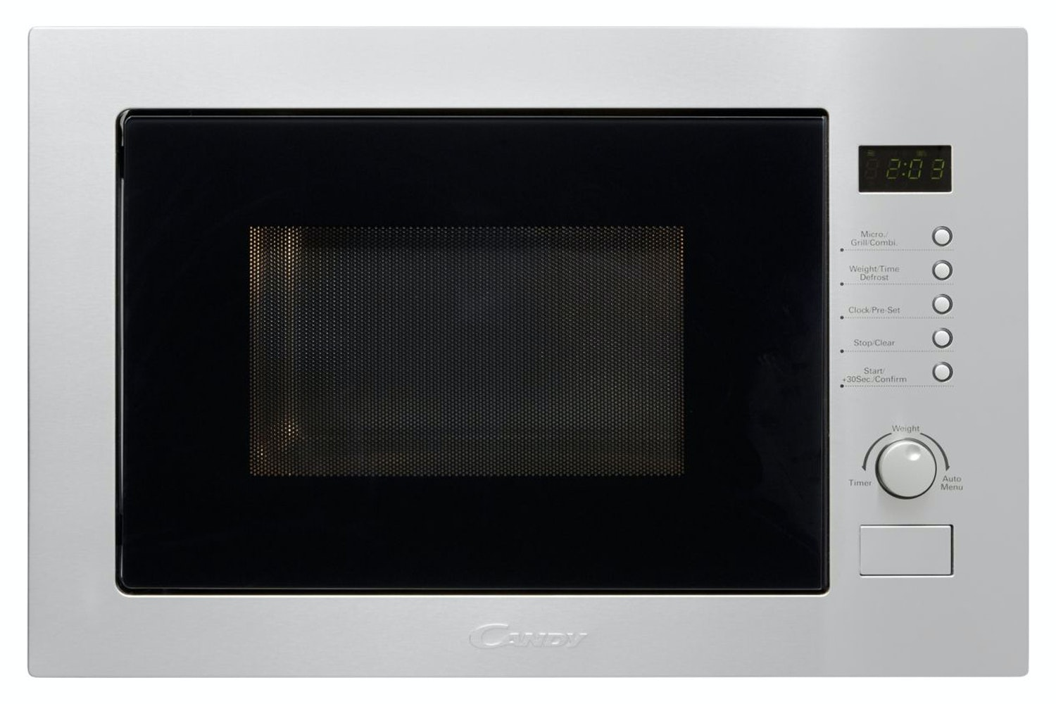 Candy 25L 900W Built In Microwave | MIC25GDFX | Stainless Steel