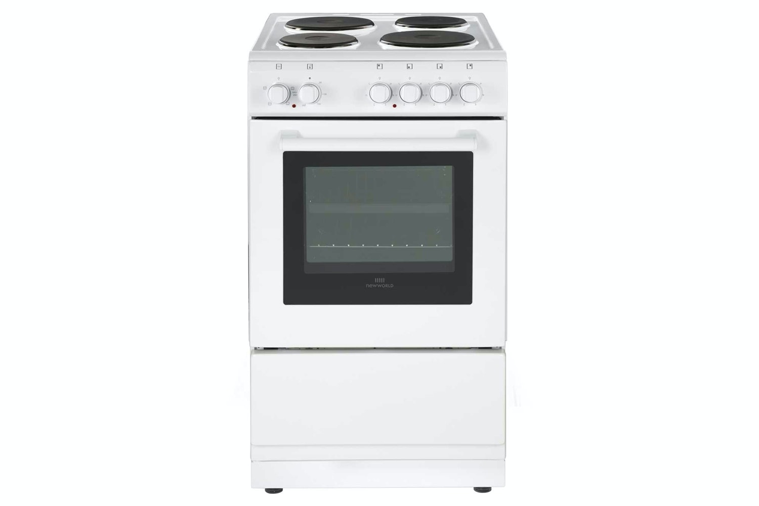 New World 50cm Electric Cooker | NW50ESWH | White