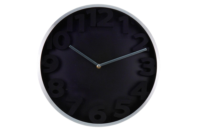 Wall Clock Aluminium Embossed