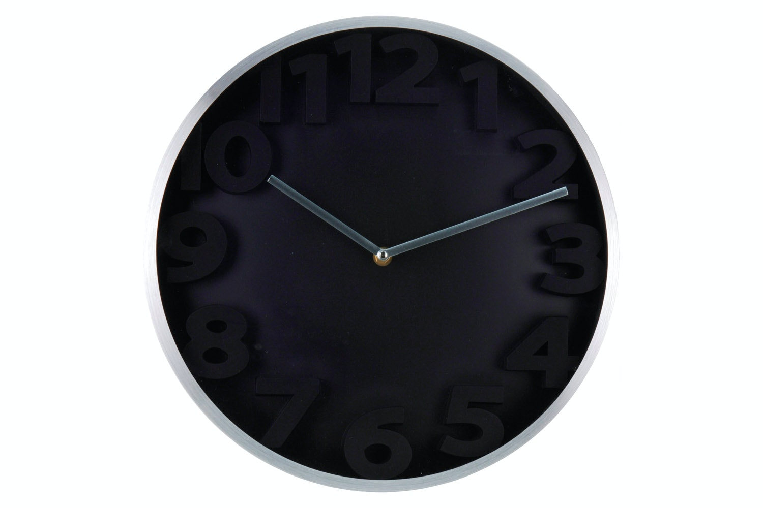 Wall Clock Aluminium Embossed