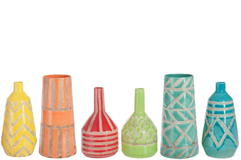 Vase Mexico Terracotta Green