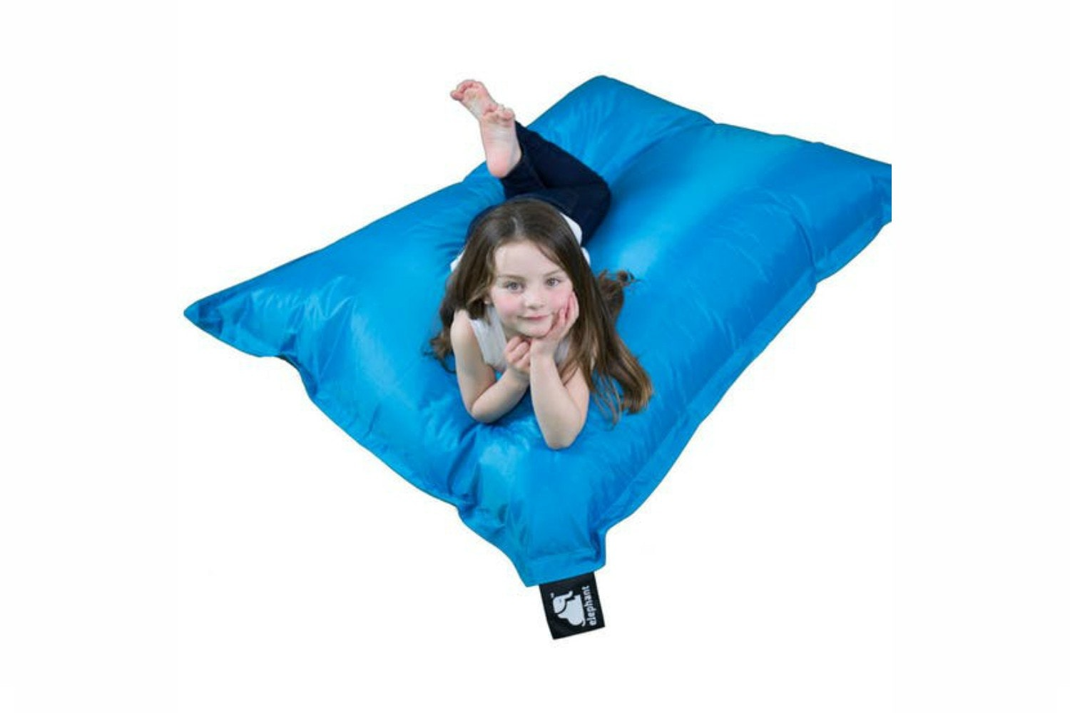 Elephant Junior Bean Bag | Ocean Turquoise