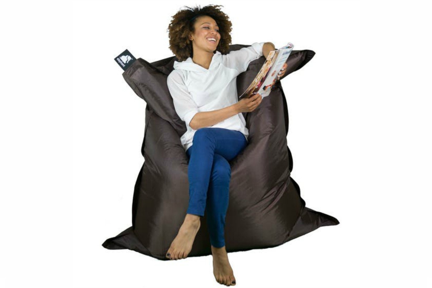 Elephant Jumbo Bean Bag | Chocolate Brown