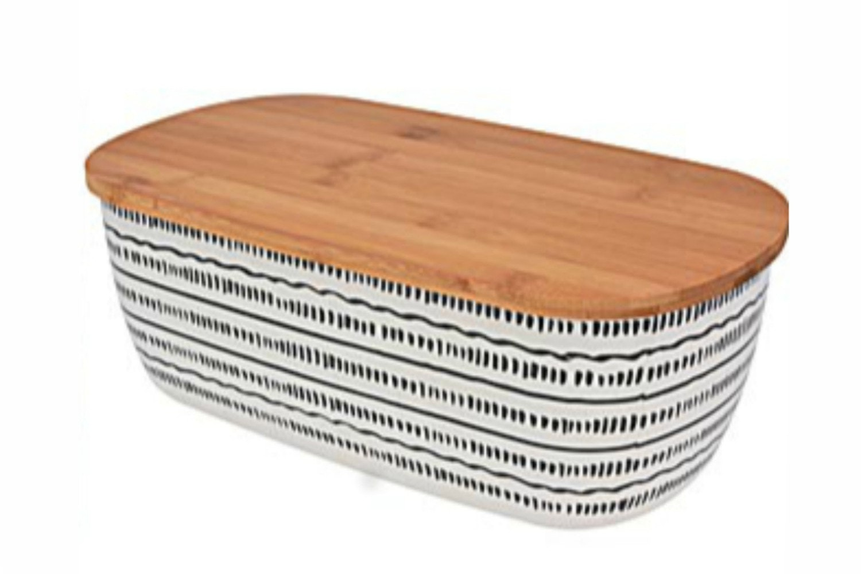 Bread Bin Bamboo Fibre