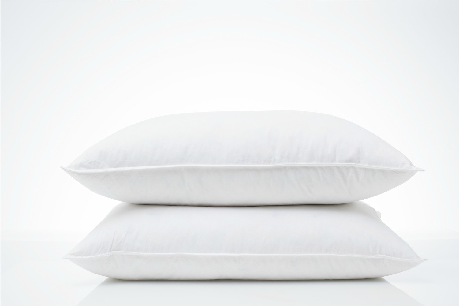 The Linen Room White Goose Feather & Down Pillow Twin Pack
