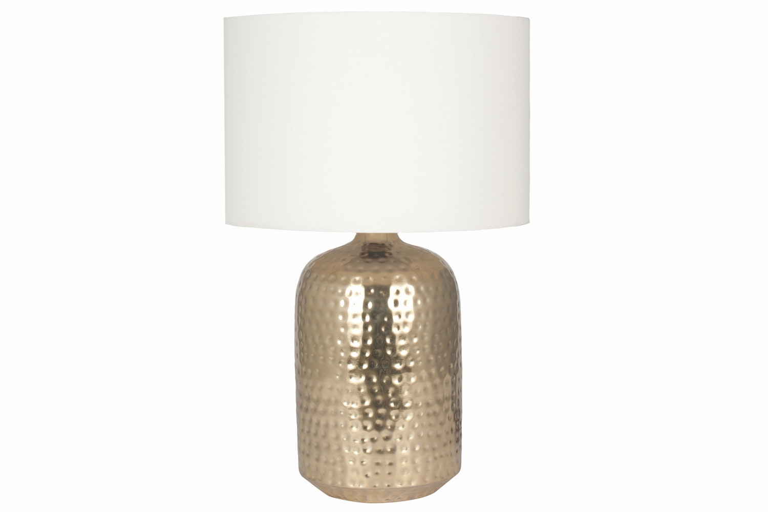 Mambo Gold Table Lamp Cream Shade