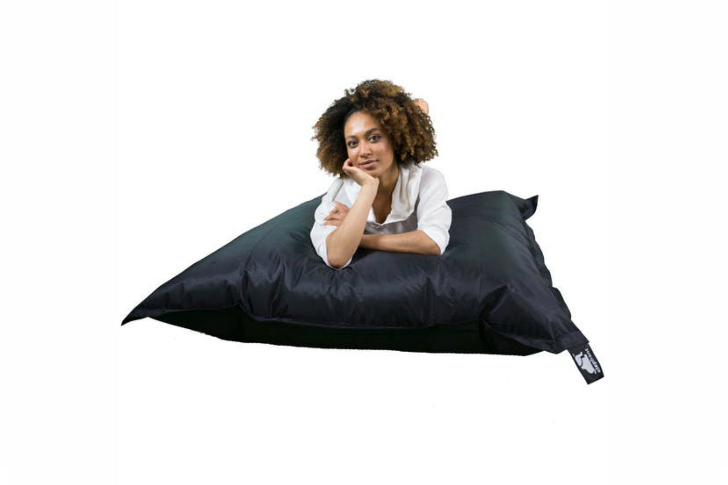 Elephant Jumbo Bean Bag | Ultra Black