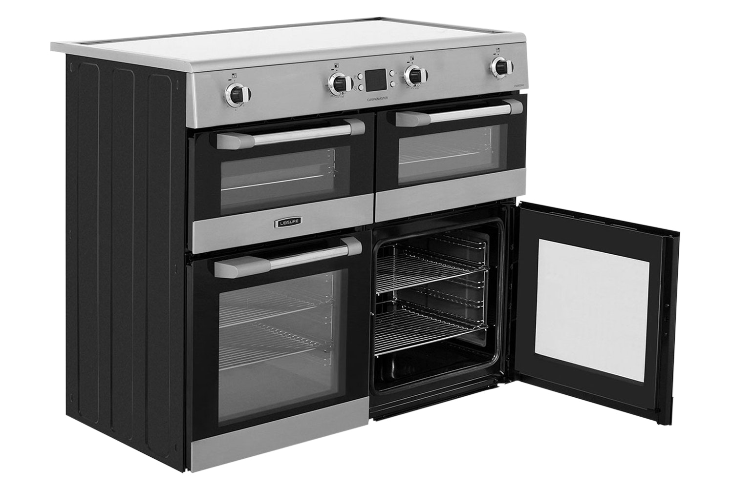 Leisure Cuisinemaster 100cm Electric Range Cooker | CS100D510X | Stainless Steel